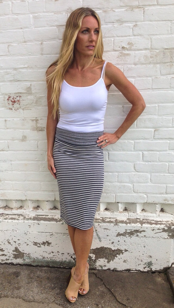 Double Striped Skirt