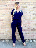 Crossover Front Jumpsuit