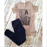 Make You Smile Side Slit Tee