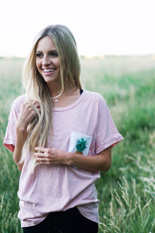 Pineapple Pocket Tee