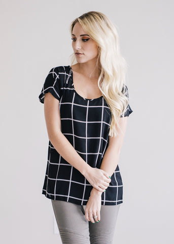 Grid Top (Black)