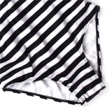 Stripe Criss Cross Back Swimsuit (Ship by May 20)