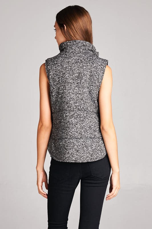 Heathered Sweater Vest