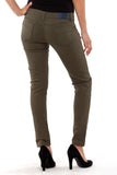 Zipper Stretch Skinny Jeans