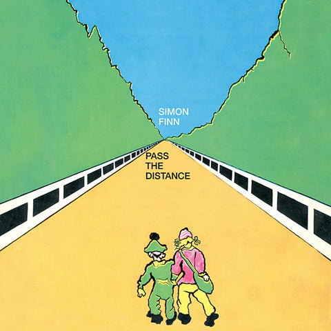 Simon Finn - Pass The Distance LP