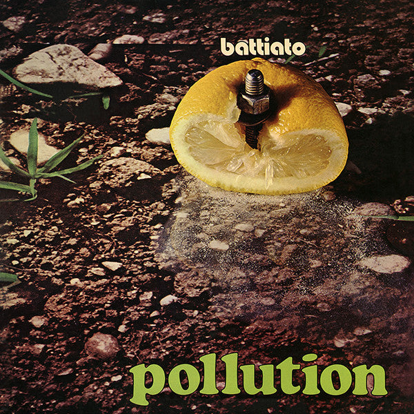 Franco Battiato - Pollution LP