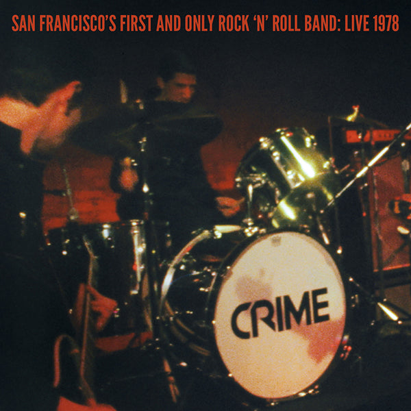 "CRIME - San Francisco's First And Only Rock 'N' Roll Band: Live 1978 2x7""+DVD"