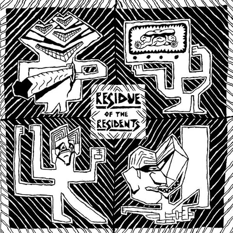 The Residents - Residue Of The Residents 2xLP