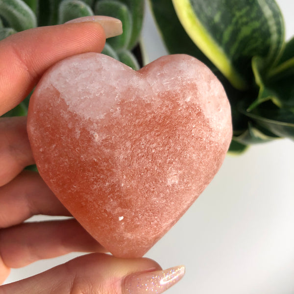 Heart Shaped ❤️ Himalayan Salt Massage Stone