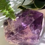Stunning Large Raw Amethyst Quartz Crystal point #1