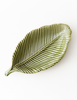Green Leaf Inspired Medium Plate