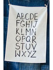 MiNDFOOD Alphabet Tea Towel