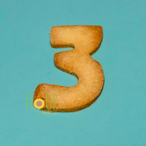 Number Three Cookie