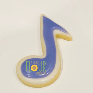 Music Note Cookie