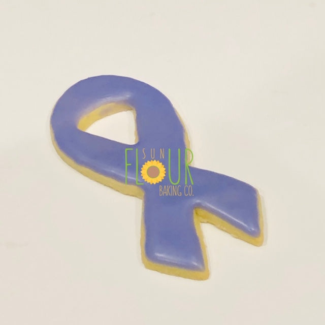 Awareness Ribbon Cookie