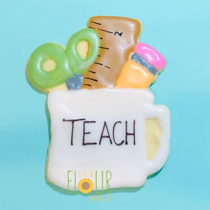 School Supply Mug Cookie