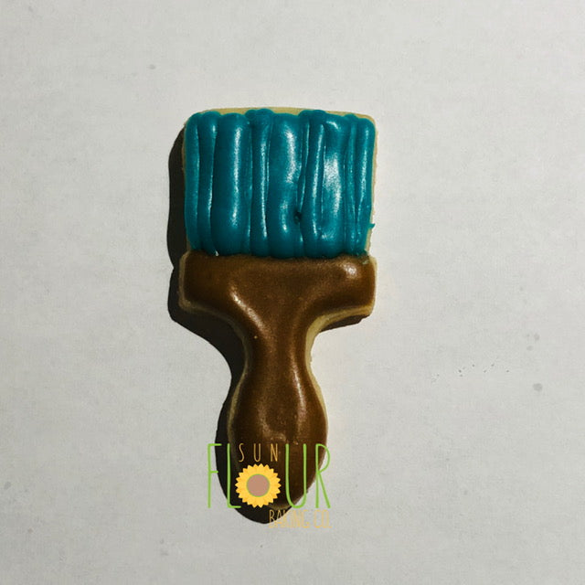 Mini Paint Brush Cookie