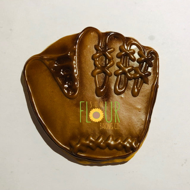 Baseball Glove Cookie
