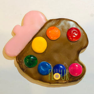 Paint Palette Cookie