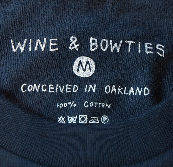 Wine & Bowties Pyramid Tee