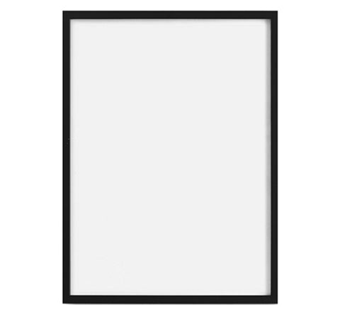 The Minimalist Home - Black Art Frame / 70 x 100 cm - The Minimalist Store