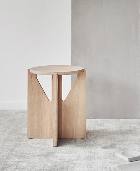 Kristina Dam - Oak Stool - The Minimalist Store
