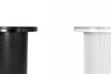 pedestal side table / white - Esaila - The Minimalist Store