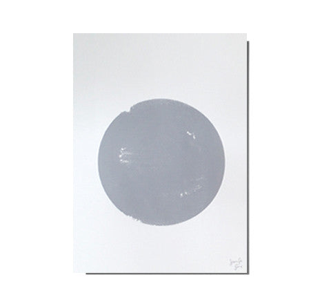 screen printed dot artwork - Jennifer + Smith - The Minimalist Store