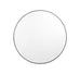 Middle Of Nowhere - Round Mirror | Available in 3 finishes and 3 sizes - The Minimalist Store