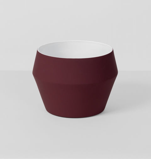 Middle Of Nowhere - Graphic Burgundy Planter - The Minimalist Store