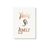 The Adventures Of - You're So Lovely / Limited Edition Print - The Minimalist Store