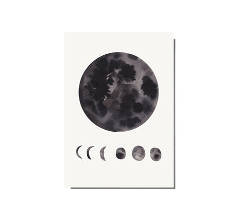 phases of the moon / limited edition print - The Adventures Of - The Minimalist Store