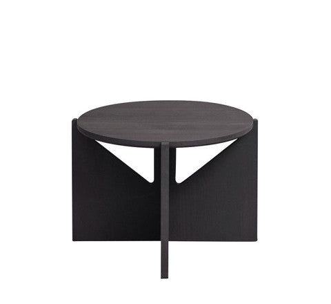 blackened beechwood side table / large - Kristina Dam - The Minimalist Store
