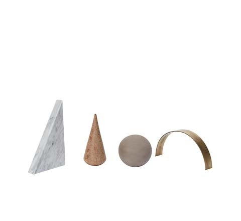 Kristina Dam - Desk Sculpture set - The Minimalist Store