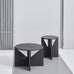 Kristina Dam - Blackened Oak Stool - The Minimalist Store