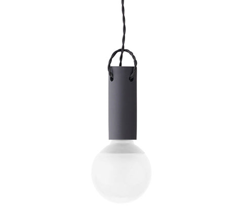 Menu - Tied Pendant / Carbon - The Minimalist Store
