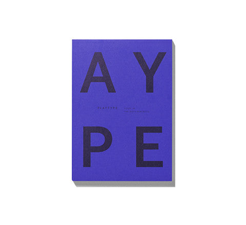 notepad / PLTY - Playtype - The Minimalist Store