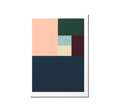 RK Design - Colour Block / Art Print - The Minimalist Store