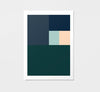 colour block / art print - RK Design - The Minimalist Store