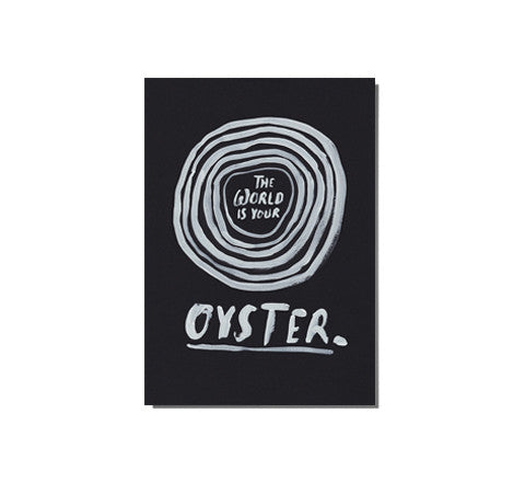 oyster / limited edition print - The Adventures Of - The Minimalist Store