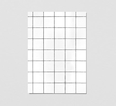 The Minimalist Home - White Tiles / Art Print - The Minimalist Store