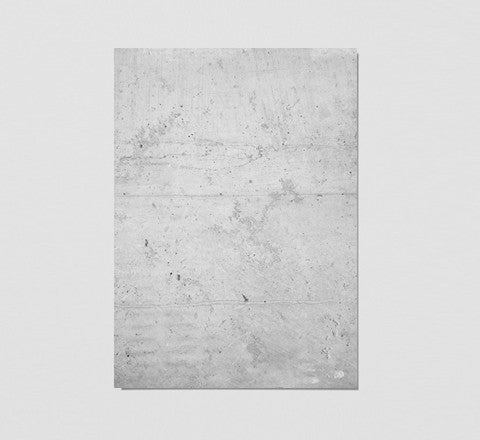 The Minimalist Home - Raw Concrete Print - The Minimalist Store
