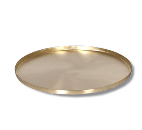 Round Brass Tray / Two Sizes