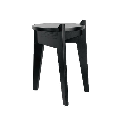 Esaila - Milk Stool / Black Green - The Minimalist Store