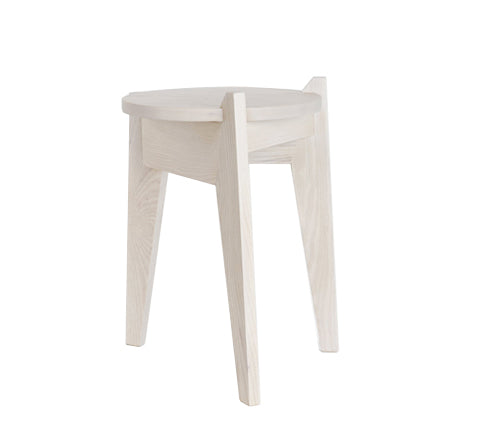 Esaila - Milk Stool / White - The Minimalist Store