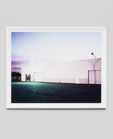 Middle Of Nowhere - Evening Warehouse Framed Art Print - The Minimalist Store