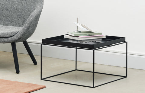 HAY - Hay Tray Coffee Table | Black - The Minimalist Store