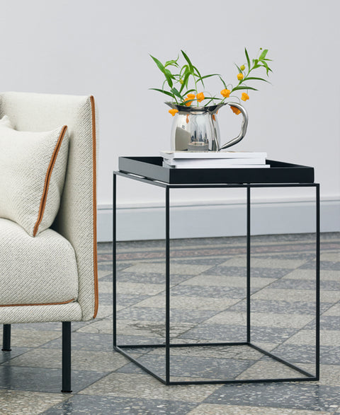 HAY - Hay Tray Side Table | Black - The Minimalist Store