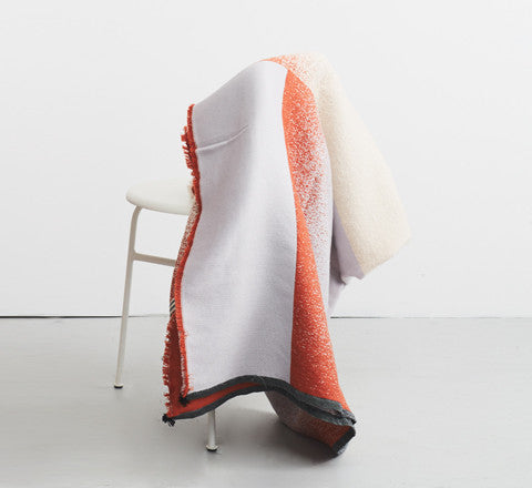 Mono Wool Blanket in Blush