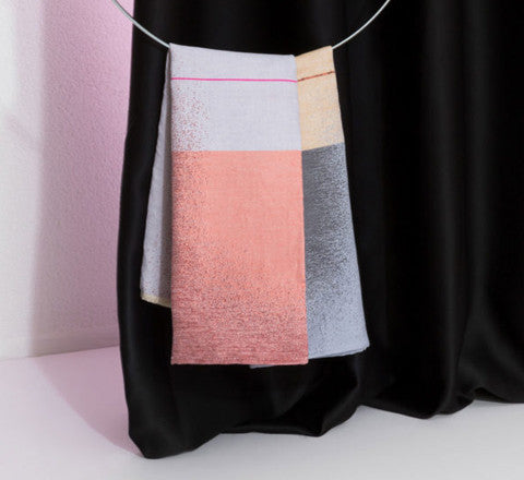 Mae Engelgeer - Mono Tea Towel in Pink - The Minimalist Store